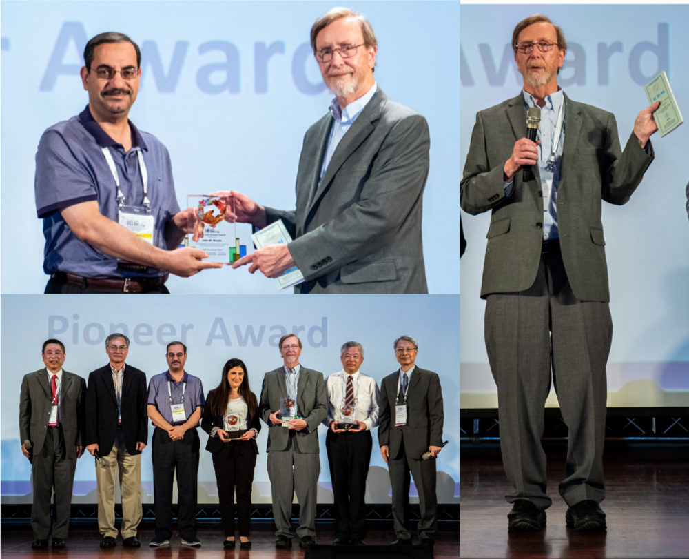 John Woods Honored at 2019 IEEE ICIP in Taiwan