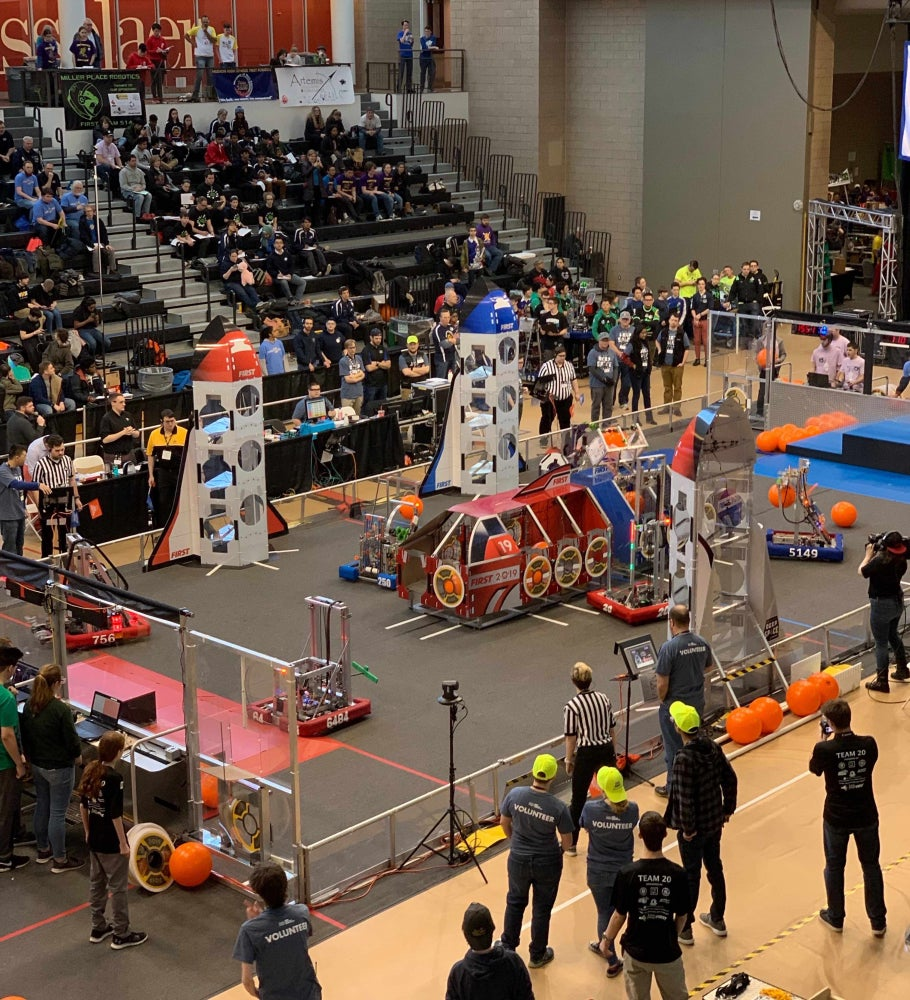 New York Tech Valley Regional 2019 FIRST Robotics Competition at RPI