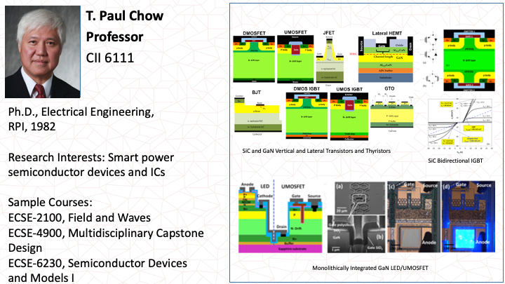 Paul Chow: Smart Power Semiconductor Devices and ICs