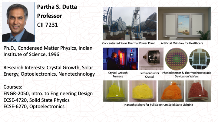 Partha Dutta Research