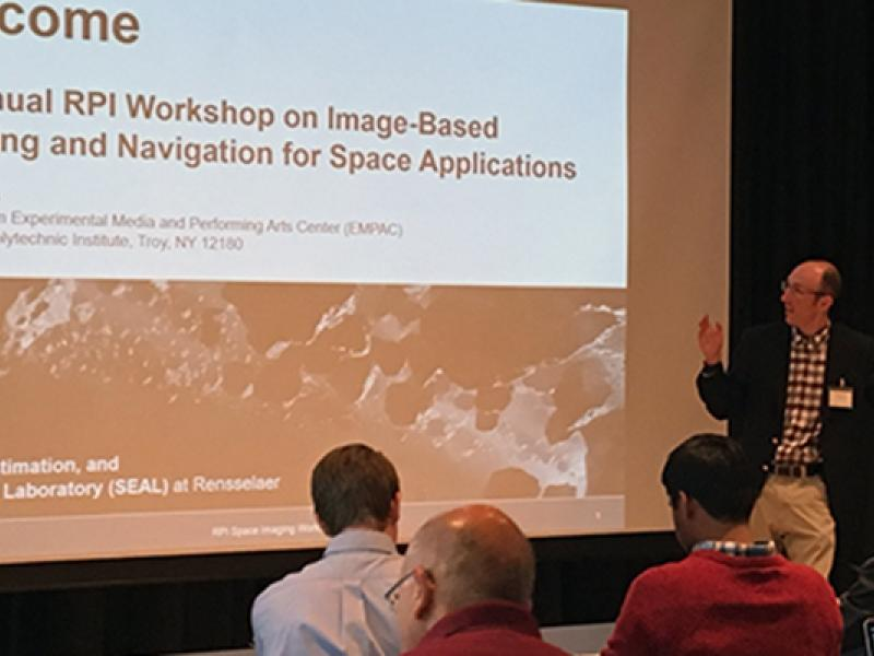 Workshop on Image-Based Modeling and Navigation for Space Applications